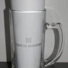 Coleccionismo de cervezas: JARRA CERVEZA ALHAMBRA. Lote 182906133