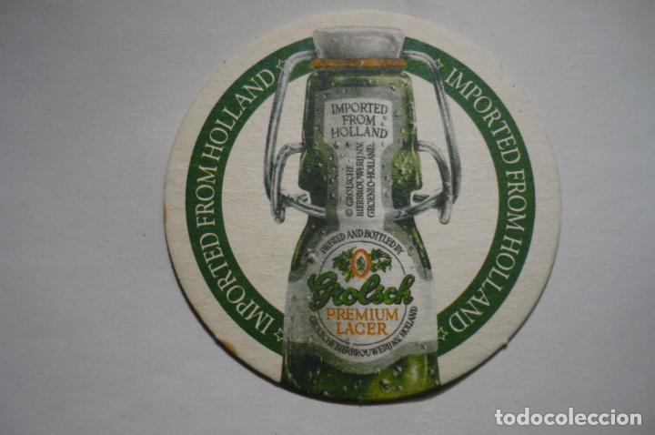 POSAVASOS CARTON DURO PREMIUM LAGER -HOLANDA (Coleccionismo - Botellas y Bebidas - Cerveza )