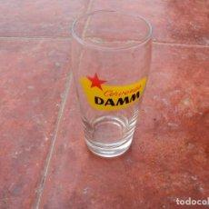 Coleccionismo de cervezas: VASO CERVERZA DAMM ANTIGUO COLECCION. Lote 184104653