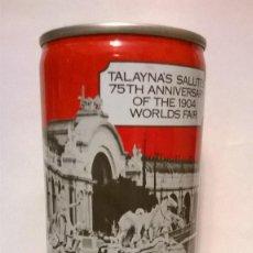 Coleccionismo de cervezas: LATA CERVEZA TALAYNA'S USA. Lote 184231568