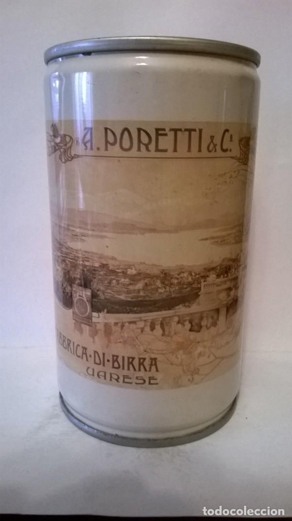 LATA CERVEZA PORETTI ITALIA (Coleccionismo - Botellas y Bebidas - Cerveza )