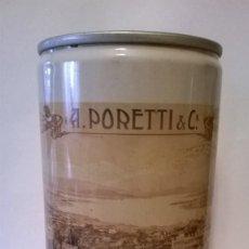 Coleccionismo de cervezas: LATA CERVEZA PORETTI ITALIA. Lote 184281755