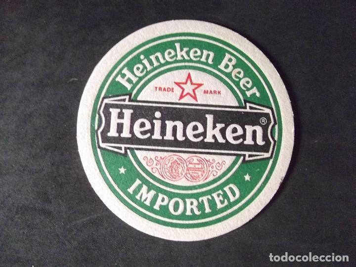 CERVEZA-POSAVASOS-V28-BEER-I-HEINEKEN (Coleccionismo - Botellas y Bebidas - Cerveza )
