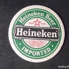 Coleccionismo de cervezas: CERVEZA-POSAVASOS-V28-BEER-I-HEINEKEN. Lote 186325021
