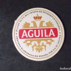Coleccionismo de cervezas: CERVEZA-POSAVASOS-V28-BEER-I-AGUILA. Lote 186325195