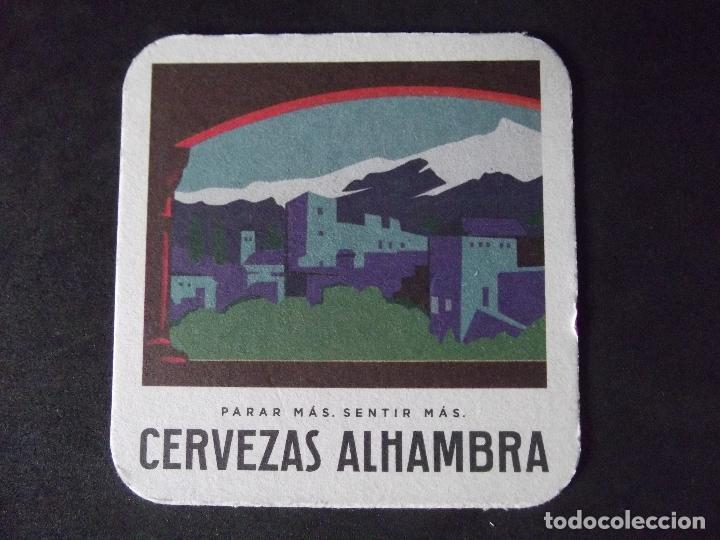 CERVEZA-POSAVASOS-V28-BEER-I-ALHAMBRA (Coleccionismo - Botellas y Bebidas - Cerveza )