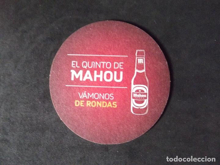 Coleccionismo de cervezas: CERVEZA-POSAVASOS-V28-BEER-I-MAHOU - Foto 2 - 186328831