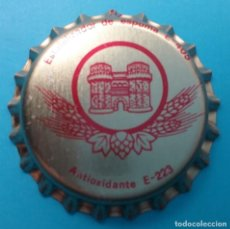 Coleccionismo de cervezas: CERVEZA TURIA TAPÓN CORONA CHAPA VALENCIA. Lote 187392073
