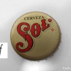 Coleccionismo de cervezas: TAPON CORONA CHAPA BEER BOTTLE CAP KRONKORKEN TAPPI CAPSULE SOL - MEXICO. Lote 213465407