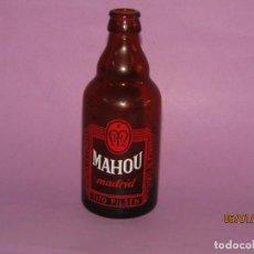 Coleccionismo de cervezas: ANTIGUA BOTELLA 1/3 DE LA FÁBRICA DE CERVEZA MAHOU TIPO PILSEN EN MADRID. Lote 190016405