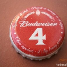 Collectionnisme de bières: BOTTLE CAP ANTIGUA CHAPA TAPÓN CORONA CERVEZA BEER BUDWEISER (15). RARA.---LOTE N. 2757---CARMANJO. Lote 190074511