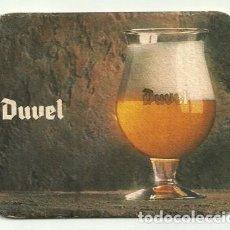 Coleccionismo de cervezas: POSAVASOS DE CERVEZA BELGA DUVEL. Lote 190847225