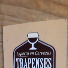 Coleccionismo de cervezas: SPENCER - PASAPORTE CERVECERO- CERVEZA EEUU TRAPENSE. Lote 191222960
