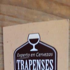 Coleccionismo de cervezas: SPENCER- PASAPORTE CERVECERO- CERVEZA TRAPENSE EEUU. Lote 191223787