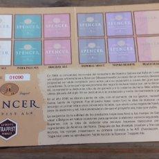 Coleccionismo de cervezas: SPENCER- PASAPORTE CERVECERO- CERVEZA TRAPENSE EEUU. Lote 191223910
