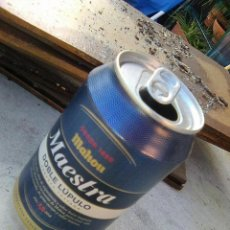 Coleccionismo de cervezas: LATA DE CERVEZA MAHOU MAESTRA 33 CL - ESCASA. Lote 191331783