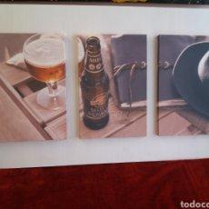 Coleccionismo de cervezas: SAN MIGUEL SELECTA ESPECTACULAR CUADRO 120CM.. Lote 191380933