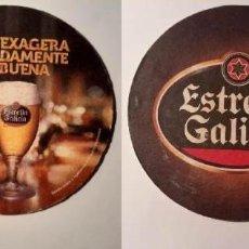 Coleccionismo de cervezas: POSAVASOS CERVEZA ESTRELLA GALICIA ESG084. Lote 191673876