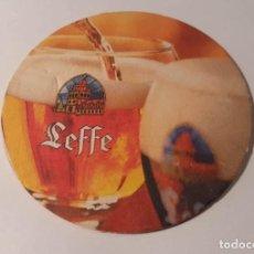Coleccionismo de cervezas: POSAVASOS CERVEZA LEFFE. Lote 191951490