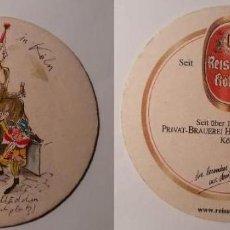 Coleccionismo de cervezas: POSAVASOS CERVEZA REISSDORF. CARNAVAL 2000. Lote 192174650