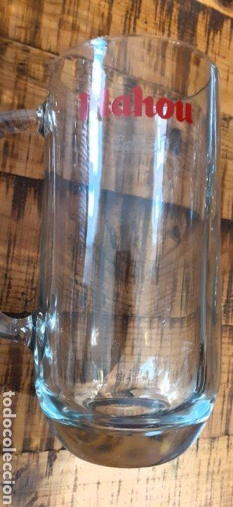Coleccionismo de cervezas: MAHOU- CAJA CON 6 JARRAS 50 CL - CERVEZA MADRID - Foto 2 - 192441203
