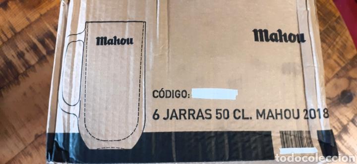 Coleccionismo de cervezas: MAHOU- CAJA CON 6 JARRAS 50 CL - CERVEZA MADRID - Foto 7 - 192441203