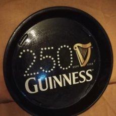 Coleccionismo de cervezas: BANDEJA GUINNES 250 ANIVERSARIO. Lote 192597758