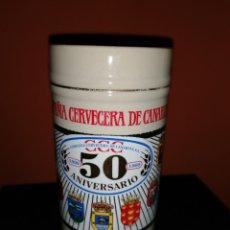 Coleccionismo de cervezas: JARRA COMPAÑÍA CERVECERA DE CANARIAS CCC - 50 ANIVERSARIO. Lote 192846021
