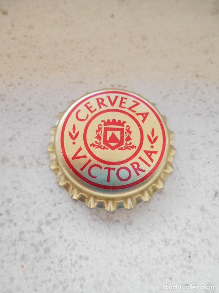 CHAPA CERVEZA VICTORIA (Coleccionismo - Botellas y Bebidas - Cerveza )