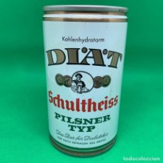 Coleccionismo de cervezas: DIAT SCHULTHEISS PILSNER TYP- LATA CERVEZA ALEMANA. Lote 193251720