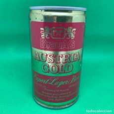 Coleccionismo de cervezas: LATA DE CERVEZA BRAUAG AUSTRIA GOLD - AUSTRIA . Lote 193723067