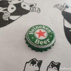 Coleccionismo de cervezas: CHAPA CERVEZA HEINEKEN 2 (DAP). Lote 194354627