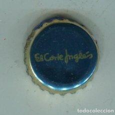 Coleccionismo de cervezas: EL CORTE INGLES TAPON CORONA ,CROWN CAP , BOTTLE CAP, KRONKORKEN ,CAPSULE ,. Lote 194536701