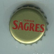 Coleccionismo de cervezas: SAGRES TAPON CORONA ,CROWN CAP , BOTTLE CAP, KRONKORKEN ,CAPSULE ,. Lote 194536723