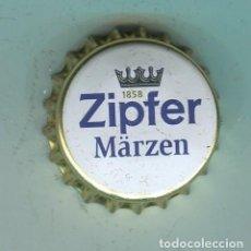 Coleccionismo de cervezas: ZIPFER TAPON CORONA ,CROWN CAP , BOTTLE CAP, KRONKORKEN ,CAPSULE ,. Lote 194536811