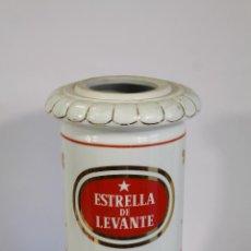 Coleccionismo de cervezas: PORCELANA GRIFO ANTIGUO DE CERVEZA ESTRELLA DE LEVANTE. Lote 194548518