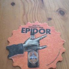 Coleccionismo de cervezas: POSAVASOS CERVEZA MORITZ EPIDOR.. Lote 194597056