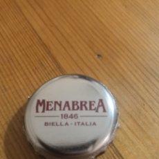 Coleccionismo de cervezas: CHAPA CERVEZA ITALIANA MENABREA. CROWN CAP KRONKORKEN.. Lote 194645008