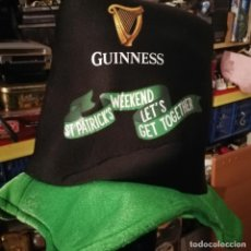 Coleccionismo de cervezas: GORRO GUINNESS ST.PATRICK´S WEEKEND LET´S GET TOGETHER. Lote 194645050