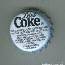 Coleccionismo de cervezas: COCA-COLA TAPON CORONA ,CROWN CAP , BOTTLE CAP, KRONKORKEN ,CAPSULE ,. Lote 194671008