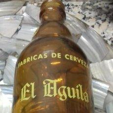 Coleccionismo de cervezas: *EL AGUILA ESPECIAL* 20 CL. -MOD.67- ESCUDO CUELLO *DECLARADA EMPRESA MODELO*. Lote 194905330