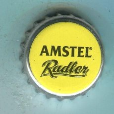 Coleccionismo de cervezas: AMSTEL TAPON CORONA ,CROWN CAP , BOTTLE CAP, KRONKORKEN ,CAPSULE ,. Lote 194959446