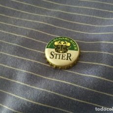 Coleccionismo de cervezas: CHAPA CERVEZA STIER (HB). Lote 195006983