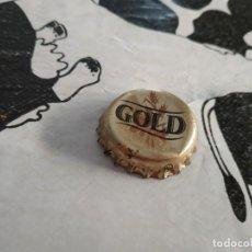 Coleccionismo de cervezas: CHAPA CERVEZA GOLD (DAP). Lote 195007315