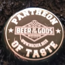 Coleccionismo de cervezas: CHAPA - TAPON - CORONA - CERVEZA PANTHEON OF TASTE - WACKEN - BEER OF THE GODS. Lote 195007810