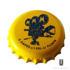 Coleccionismo de cervezas: TAPÓN CORONA ESPAÑA (ES)--CHAPA CERVEZA MORITZ,. Lote 195114267
