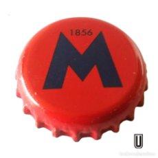 Coleccionismo de cervezas: TAPÓN CORONA ESPAÑA (ES)--CHAPA CERVEZA MORITZ.. Lote 195114392