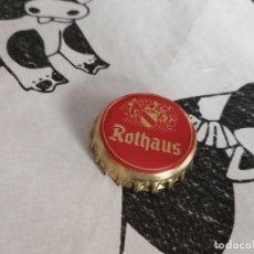 Coleccionismo de cervezas: CHAPA CERVEZA ROTHAUS (RRK). Lote 195192748