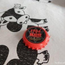 Coleccionismo de cervezas: CHAPA CERVEZA ESTRELLA GALICIA 1906 RED VINTAGE (CP). Lote 195193116