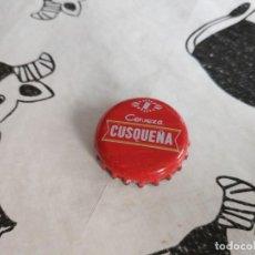 Coleccionismo de cervezas: CHAPA CERVEZA CUSQUEÑA (TAPÓNCORONA). Lote 195195257
